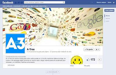 pagina facebook a-tres