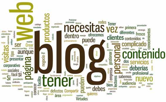pagina web blog
