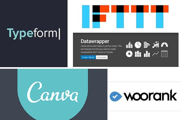 typeform-canva-ifttt-woorank-datawrapper
