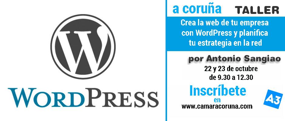 taller-wordpress-camara-coruña